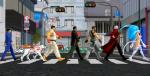 felicia friends Abbey Road