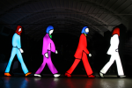Marco Lodola Abbey Road