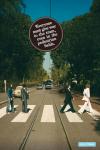 Marketing security pedestrian Abbey Road