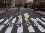 peanuts Abbey Road