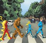 Supereroi Abbey Road
