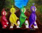 teletubbies Abbey Road